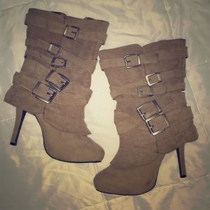 Charlotte Russe heeled boots